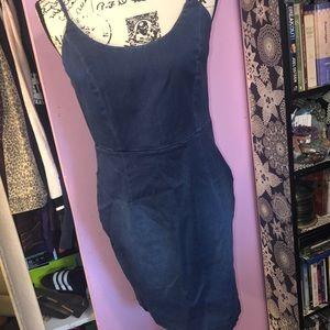 Women's stretch mini dress